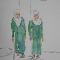 Alte Männer in Marrakesch
